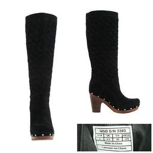 UGG Australia tall lined boots SN#3211